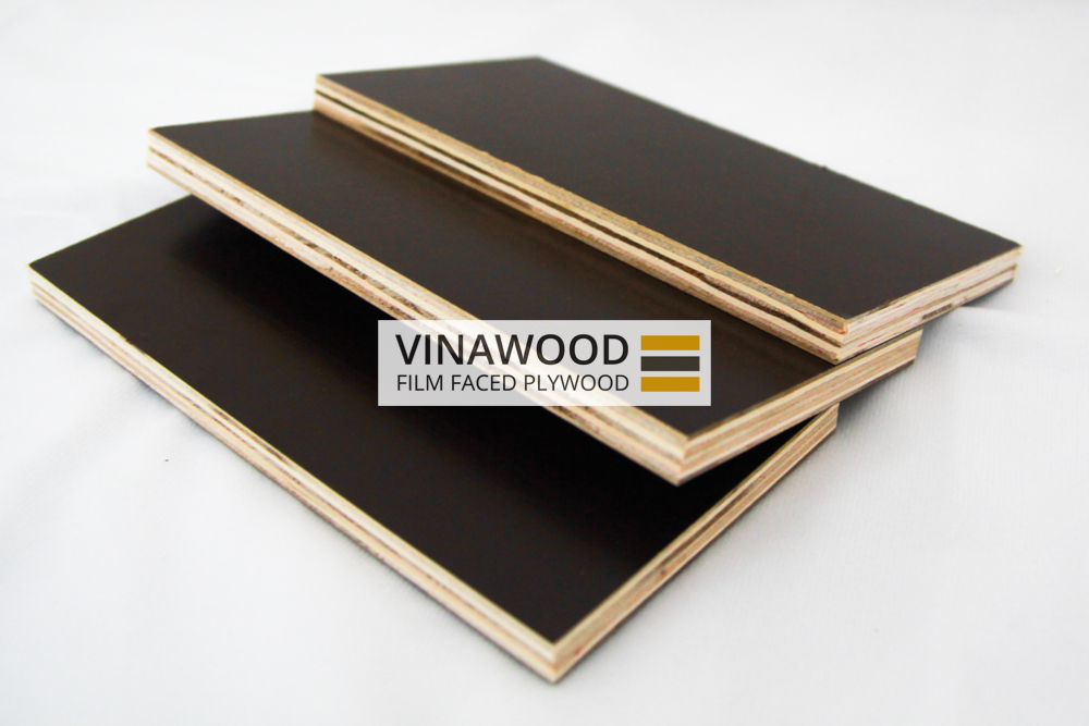 Phenolic Hardwood Film Faced Plywood For Concrete Formwork