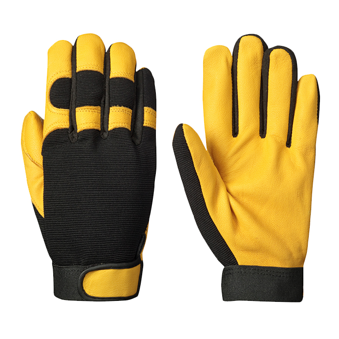 Mechanic Hand Gloves/ Work Place Safety Gloves