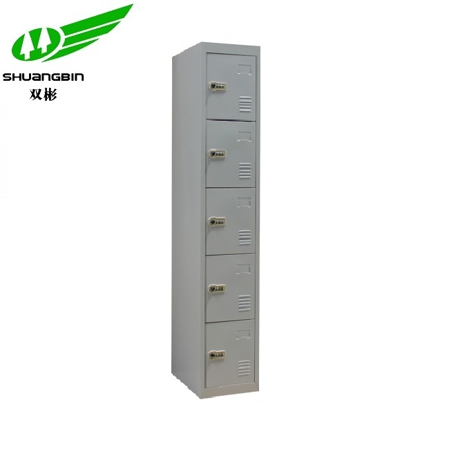 Best selling durable 5 door steel clothes locker