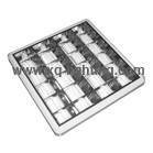 T8 4x18w grille lamp round type