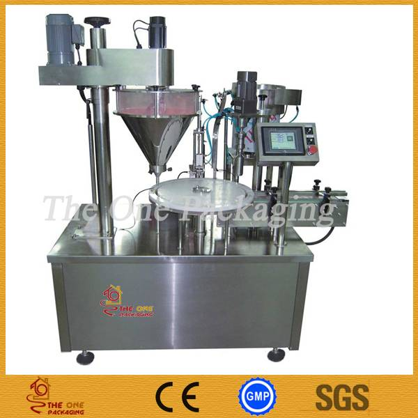 Automatic Powder Filling and Capping Machine, Powder Filler