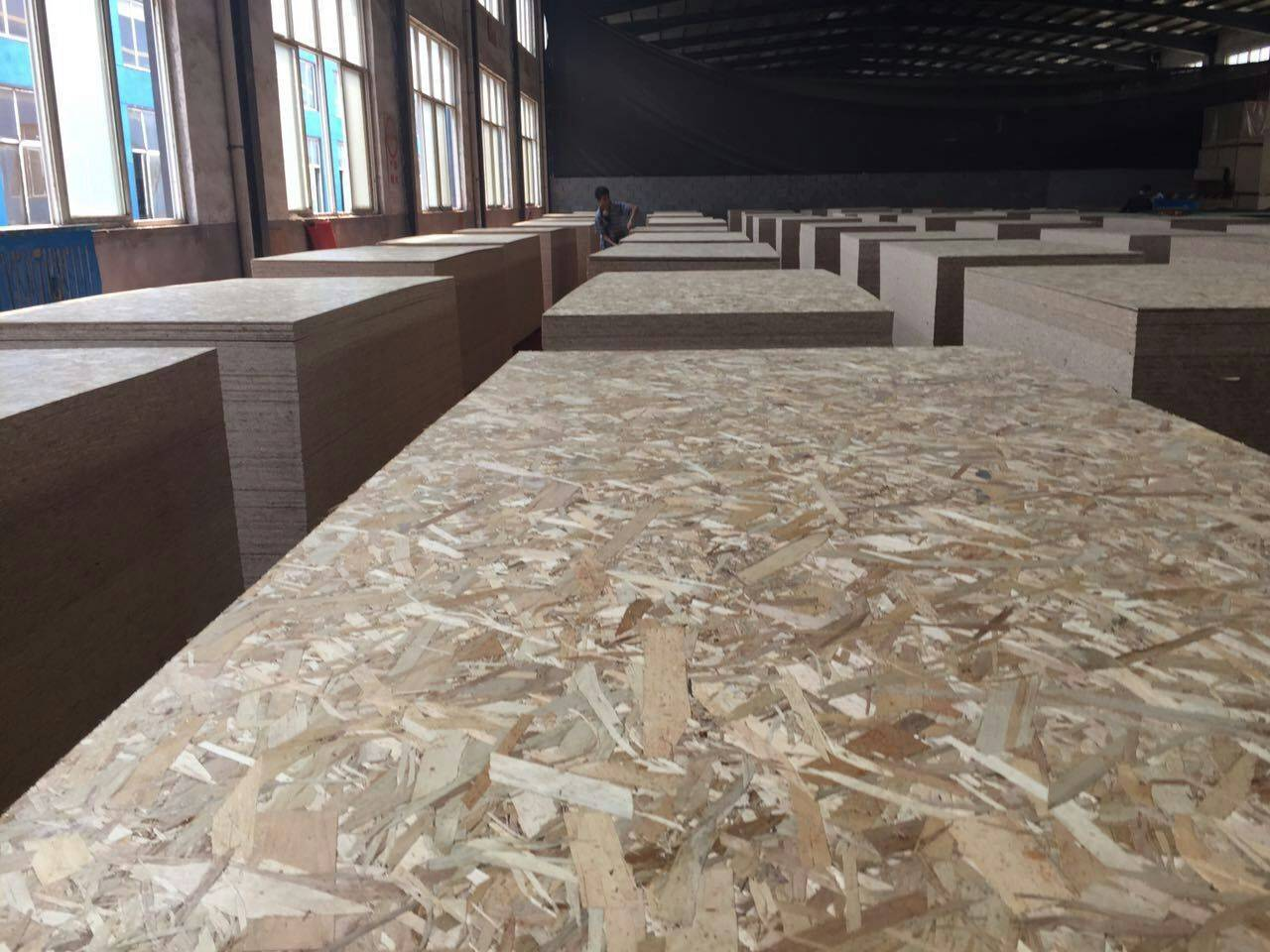 15mm melamine osb 3 (oriented strand board)