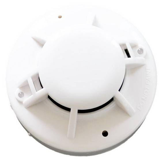 4-wire Smoke Detector smoke sensor with sound and relay output