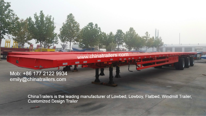 China windmill extendable trailer