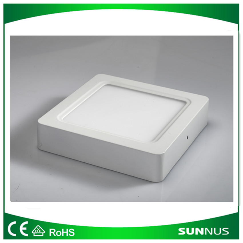 24W surface mounted LED square panel ceiling light with Two years warranty, LVD and EMC of CE