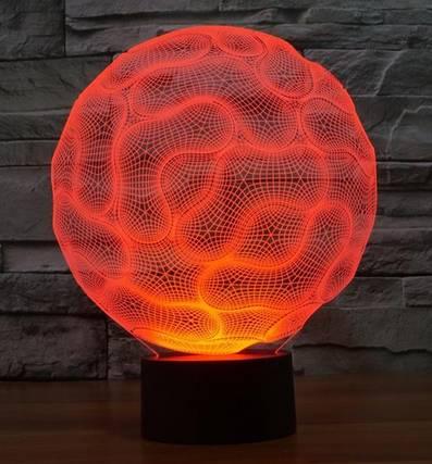 Creative Fantastic Spiderman mask 3D led light lamp Bedroom Decoration Night Light for children Kids