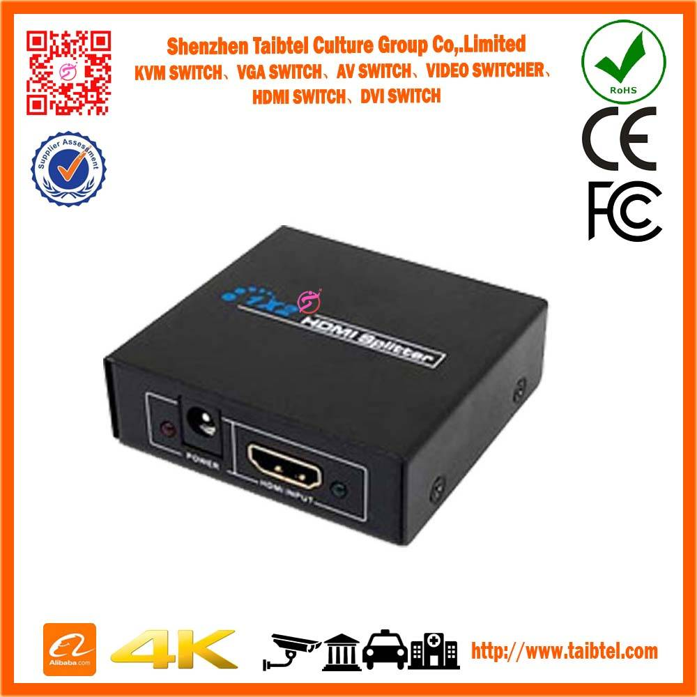 1 in 2 out HDMI Splitter Amplifier