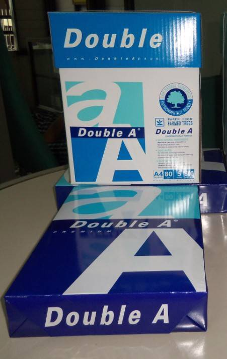 Double A4 Copy Paper 100% wood pulp