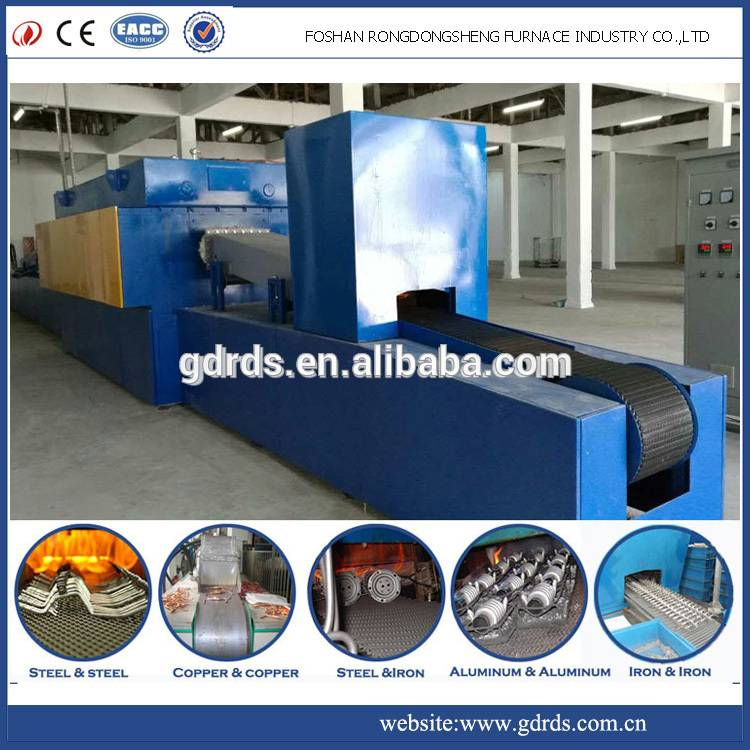 electric used heat treatment continuous brazing furnace for sale