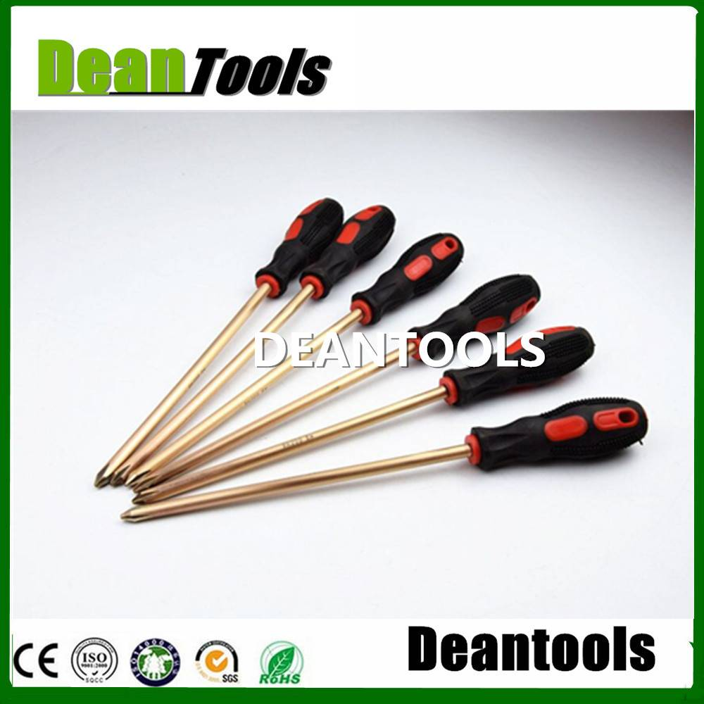non sparking flat screwdriver , slotted screwdriver