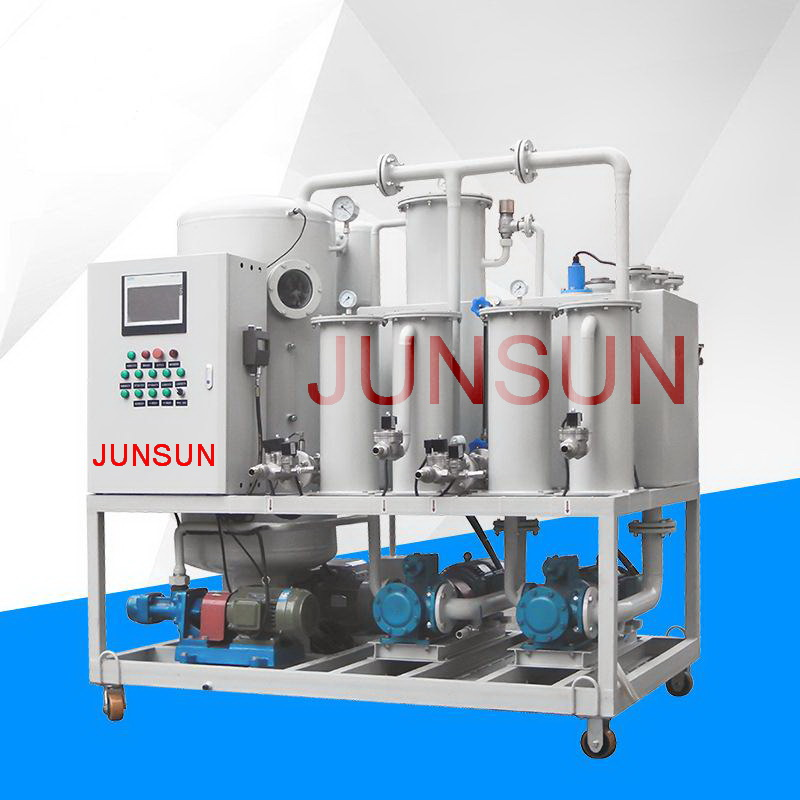 TYA-100 6000 LPH Hydraulic Oil Filtering System, Waste Lubricating Oil Purifier