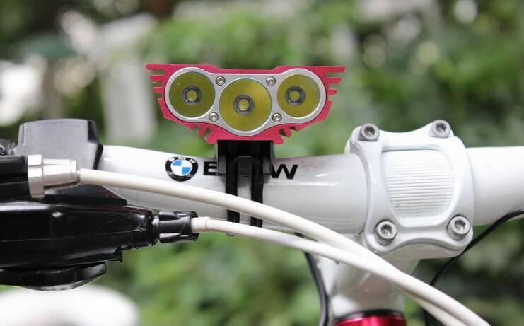 GW-BL03A 3xT6 3000 LM Bicycle LED Light