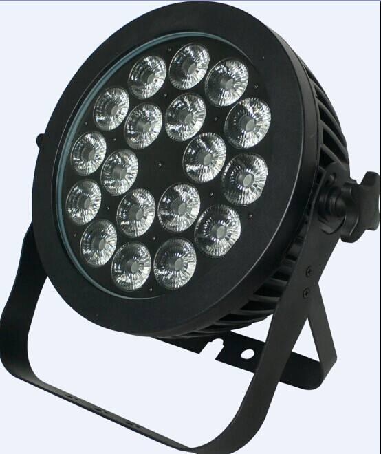 new high power par light 18*10w 6in1 led stage par lighting