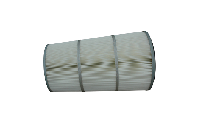 Air filter cartridge pleated air filter