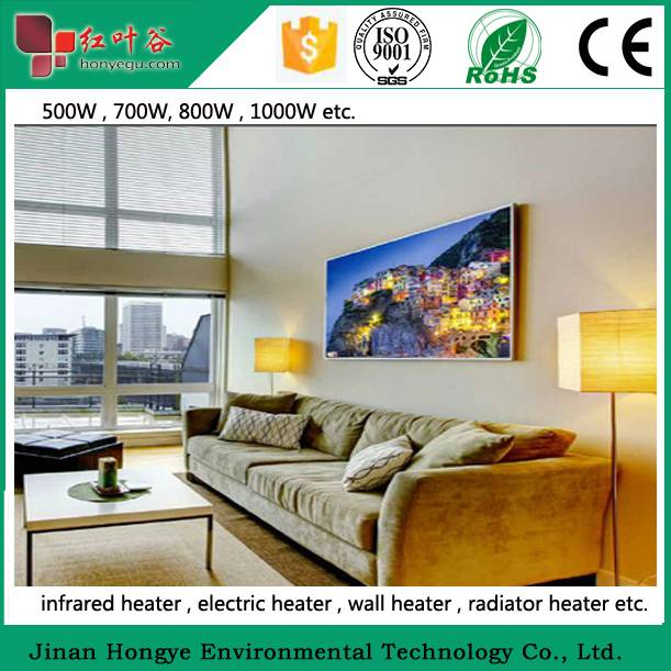 1000W Electric Infrared Panel Heater