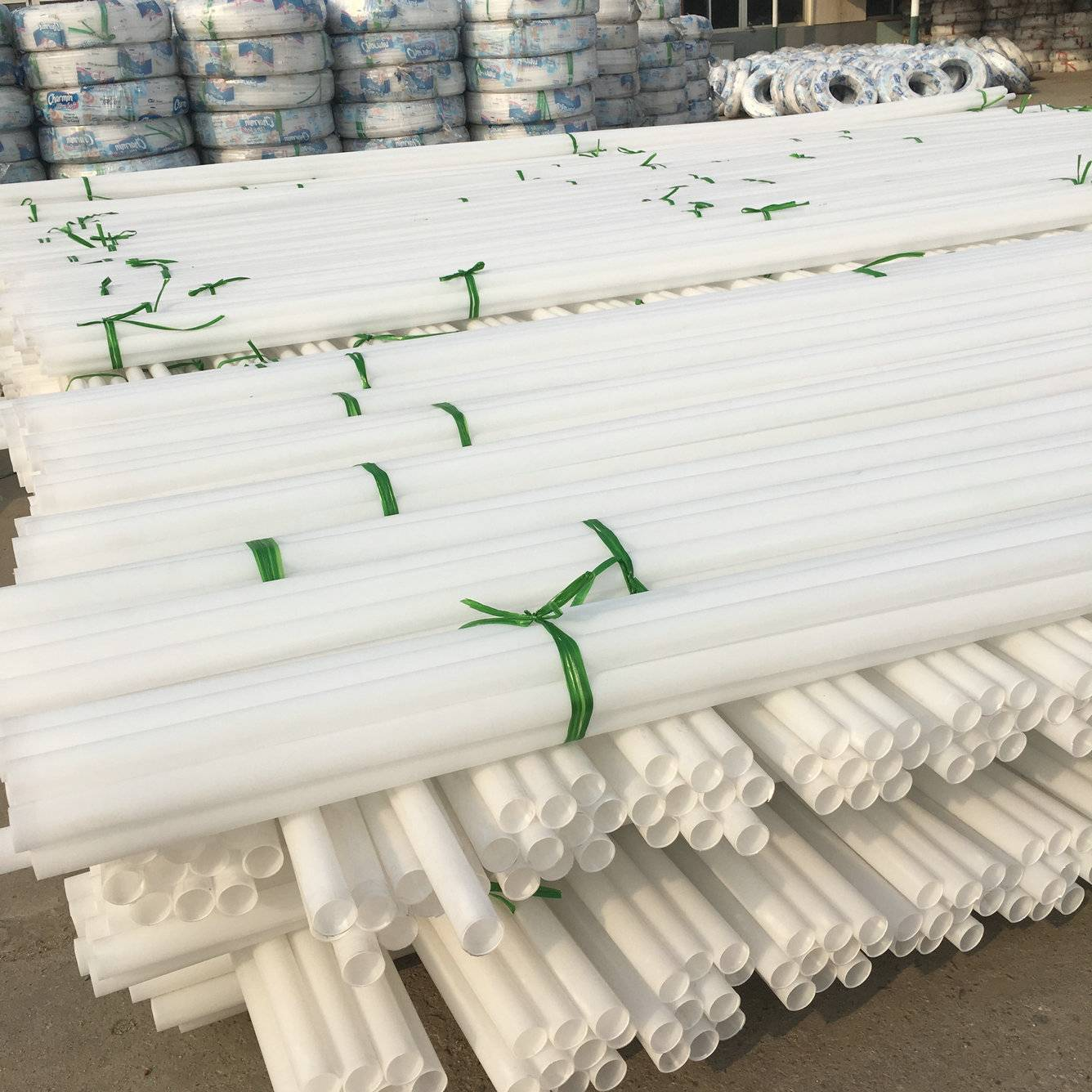 Manufacture of PP pipes for water supply