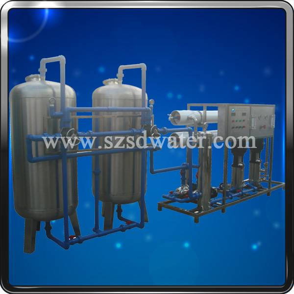 RO water purification plant for drinking /pure water production(2000L/H)