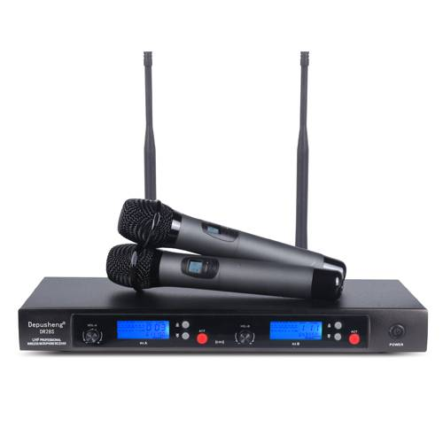 UHF Wireless Microphone Dr-28s Dual-Channel Receiver High Quality