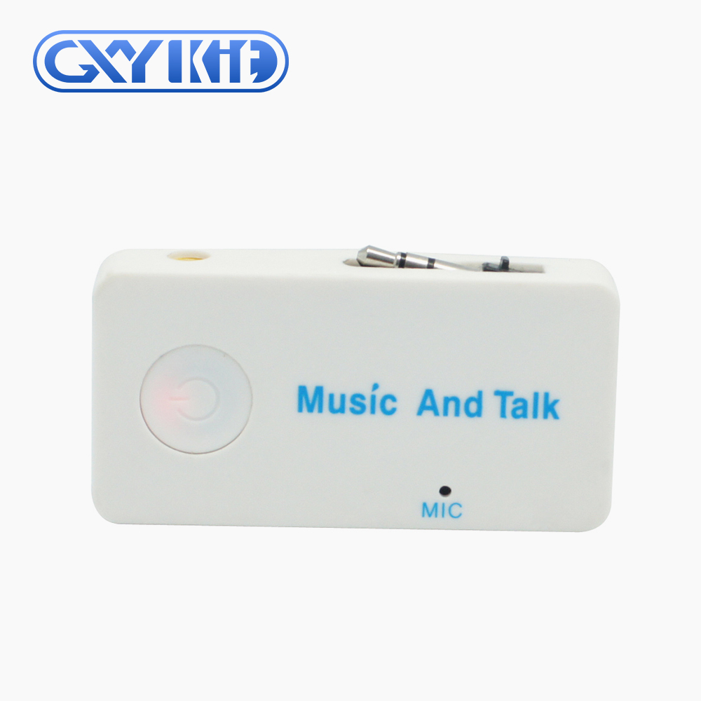GXYKIT wireless bluetooth receiver bluetooth handsfree H3 Mini Stereo Music Adapter with microphone