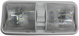 White 4000-4500k DC12V 2835SMD*48PCS Double Light Car Dome Light