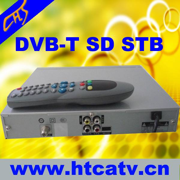 2012 best selling dvb-t set top box