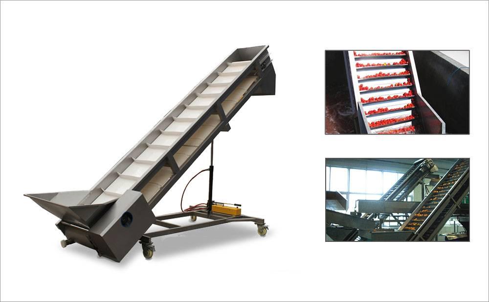 Inclined Scraper Belt Conveyor