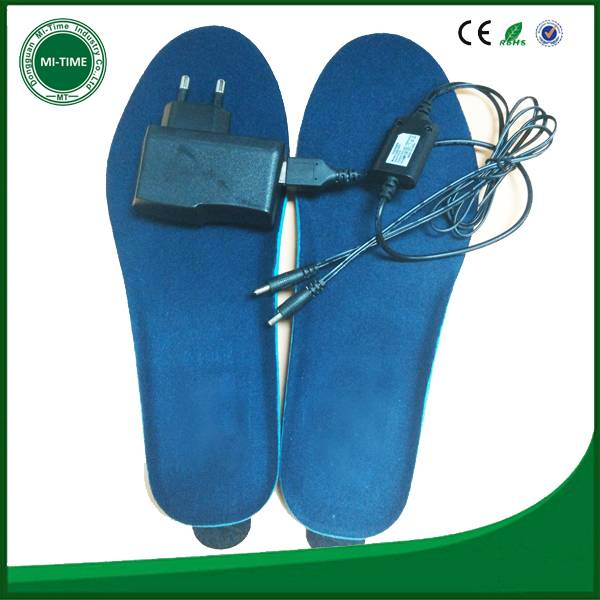 mobile phone heated insole, bluetooth battery chargeable shoe insole