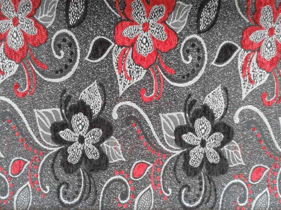 jacquard chenille sofa fabirc