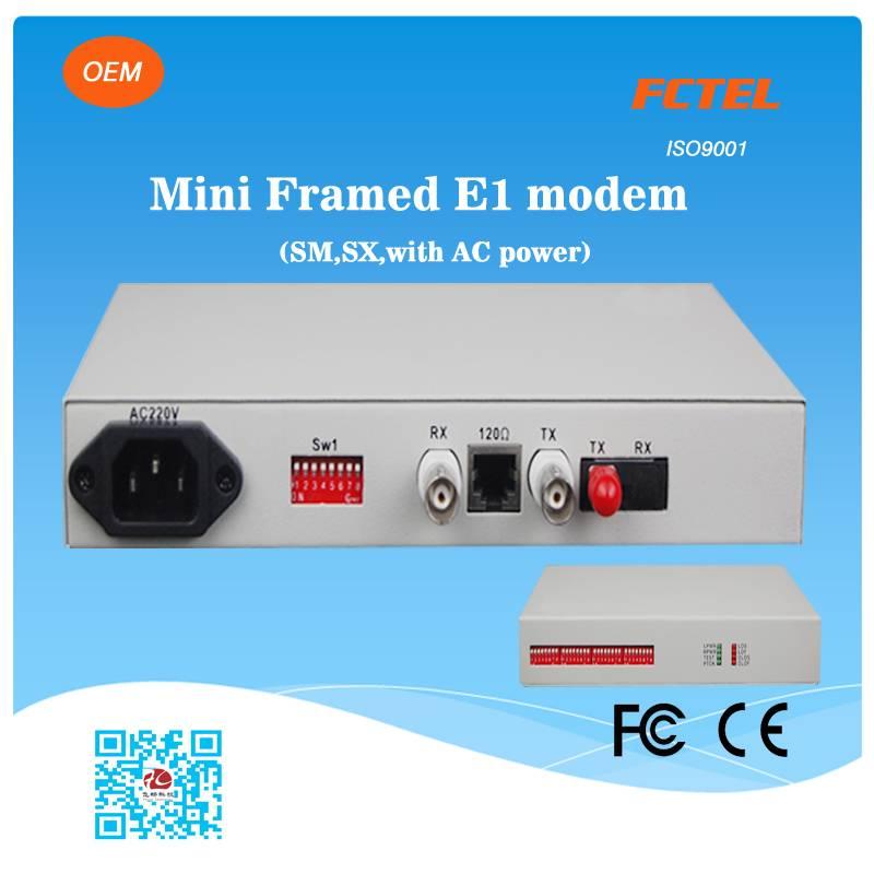 mini optic e1 modem