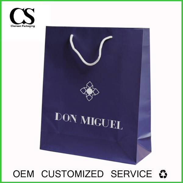 high quality new design christmas chart paper bag china supplier