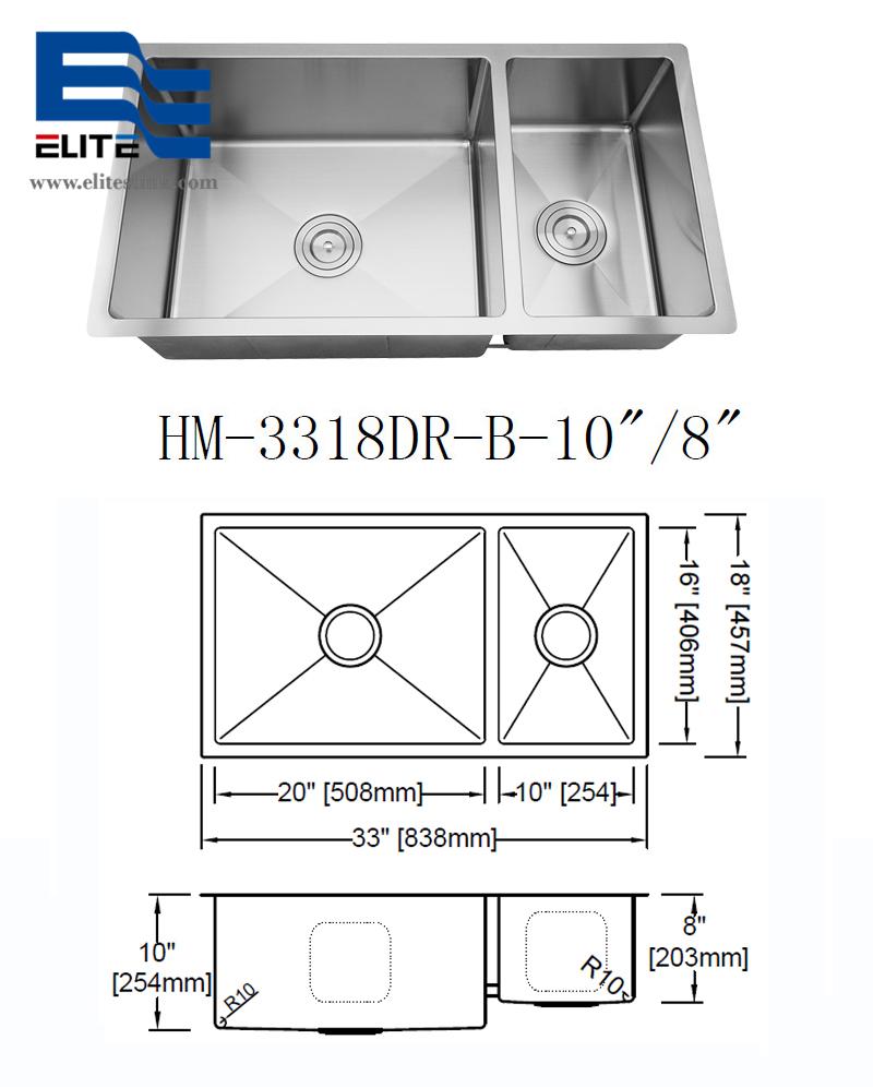 best Stainless Steel Undermount Sinks in Kitchens 1.5 bowls