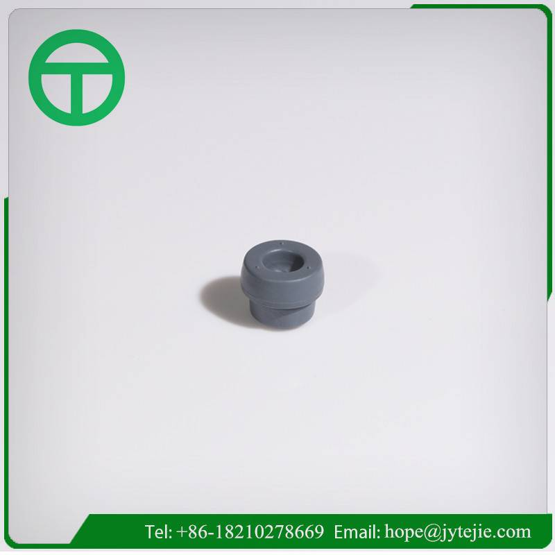 Butyl rubber stopper of blood collection tube