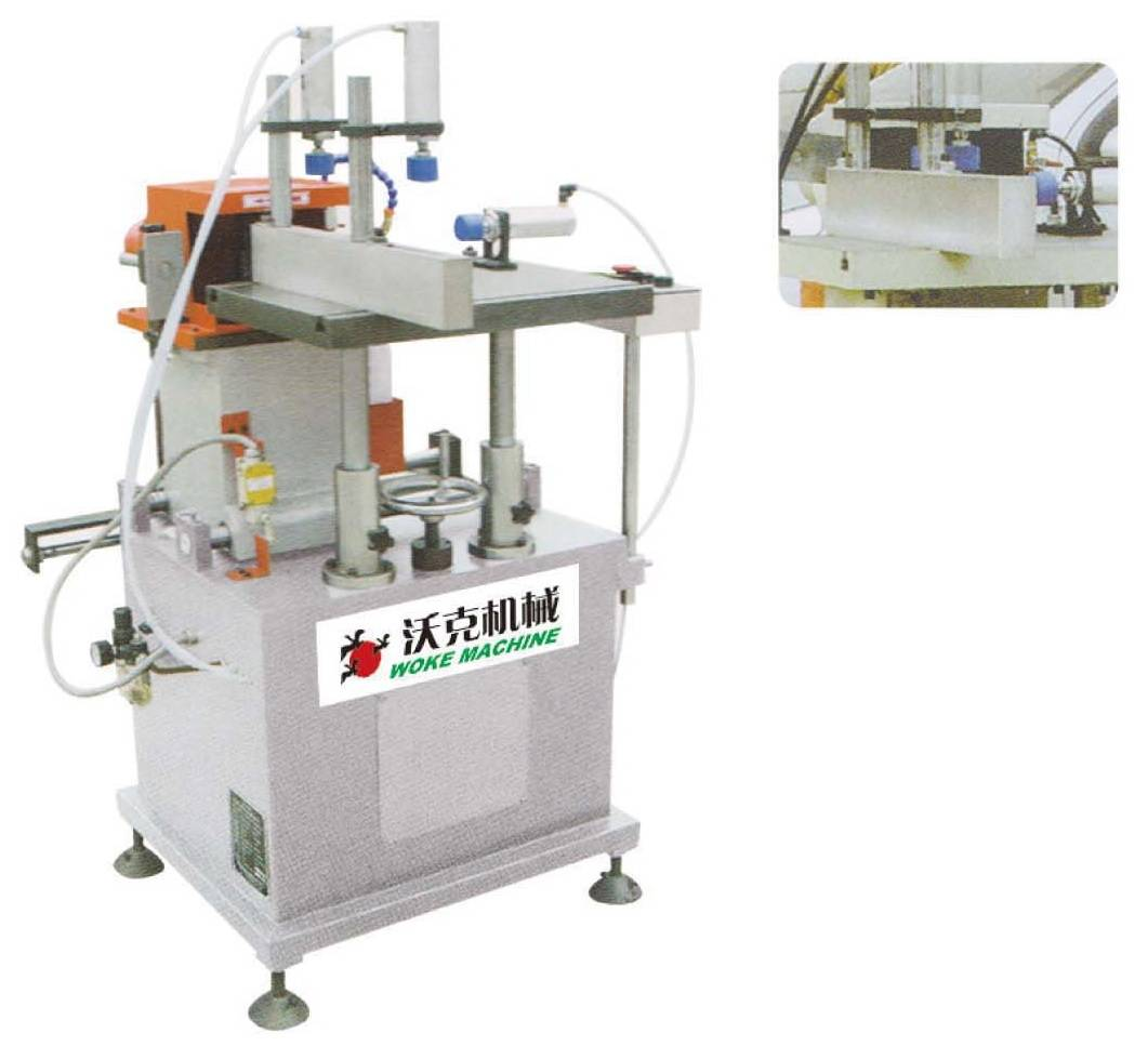 Aluminum PVC profile end face milling machine