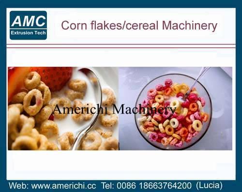 Breakfast cereals snacks machine