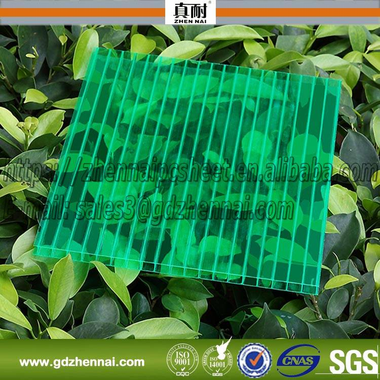 Construction Material Plastic Products Polycarbonate Hollow Sun Sheet