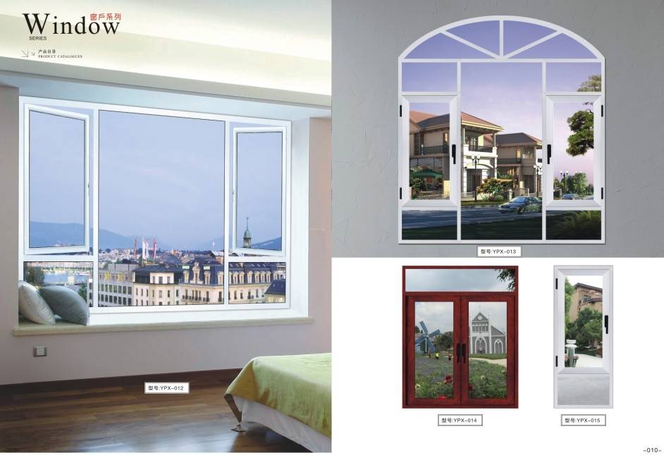 Glass aluminium alloy windows