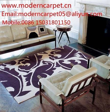 hand tufted modern design area rugs