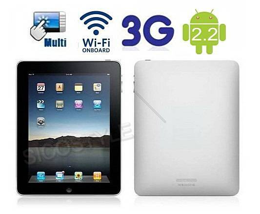 Android 2.2 Tablet 3G built-in WIFI 10inch Multi Touch Capacitive Display