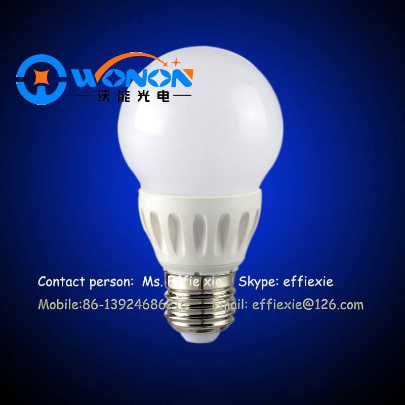 3W plastic led bulbs