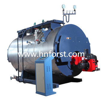 6t/h industrial use waste oil fired steam boiler