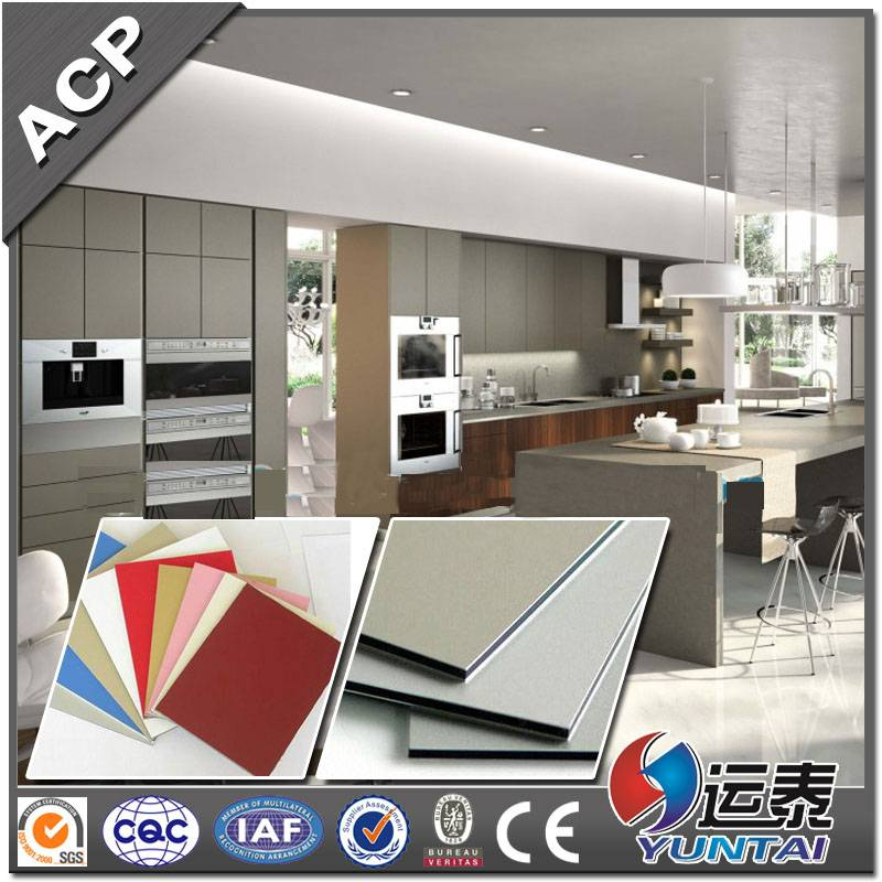 PVDF coated ACP sheet for interior and exterior decorative
