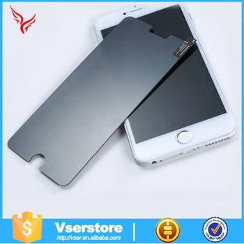 best material 0.33mm 9H glass for smartphone iphone 6 tempered glass screen protector
