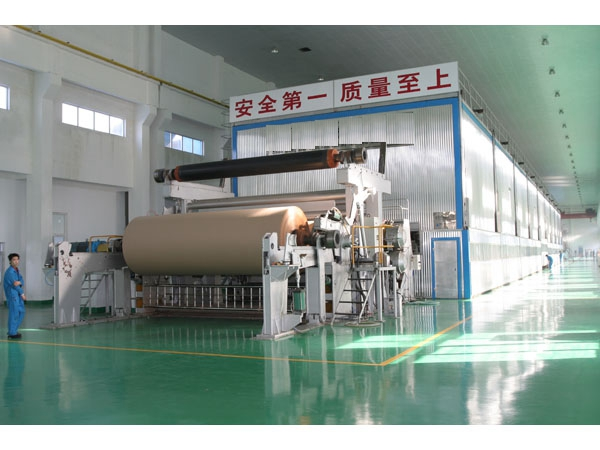 High quality 1600mm four-network multi-cylinder paper machine