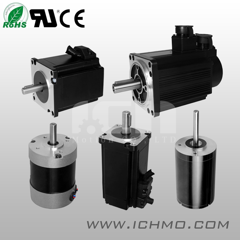 NEMA 17/34 Servo Brushless DC Stepper Motor with High Quality