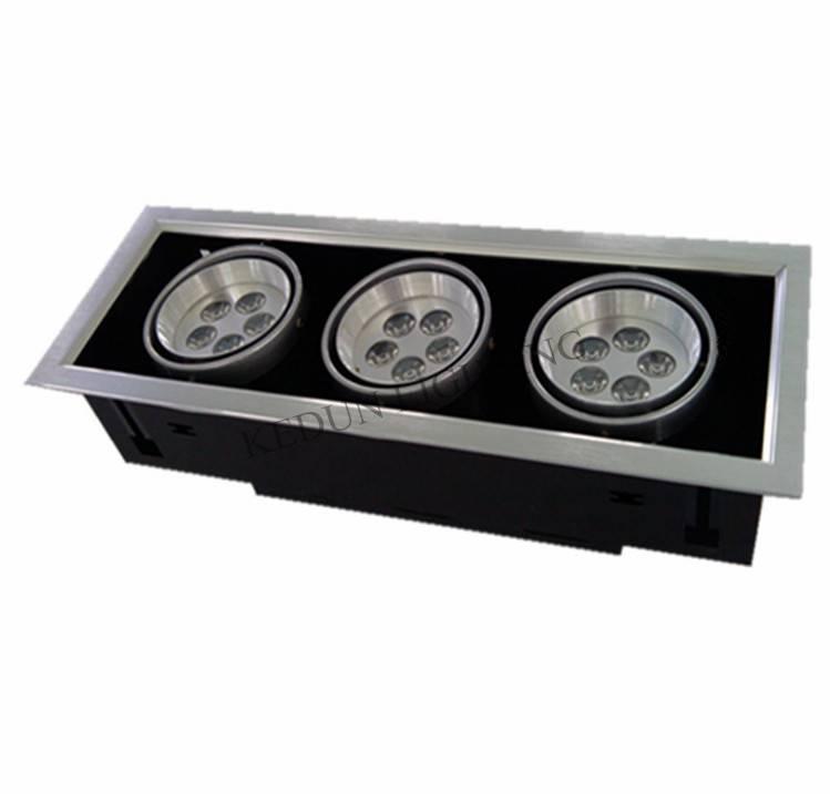 5*1W*3 LED Grille Light (KD-GL-06)