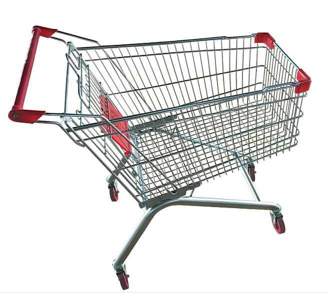 fashion design shopping trolley for supermarket & stores, shopping carts