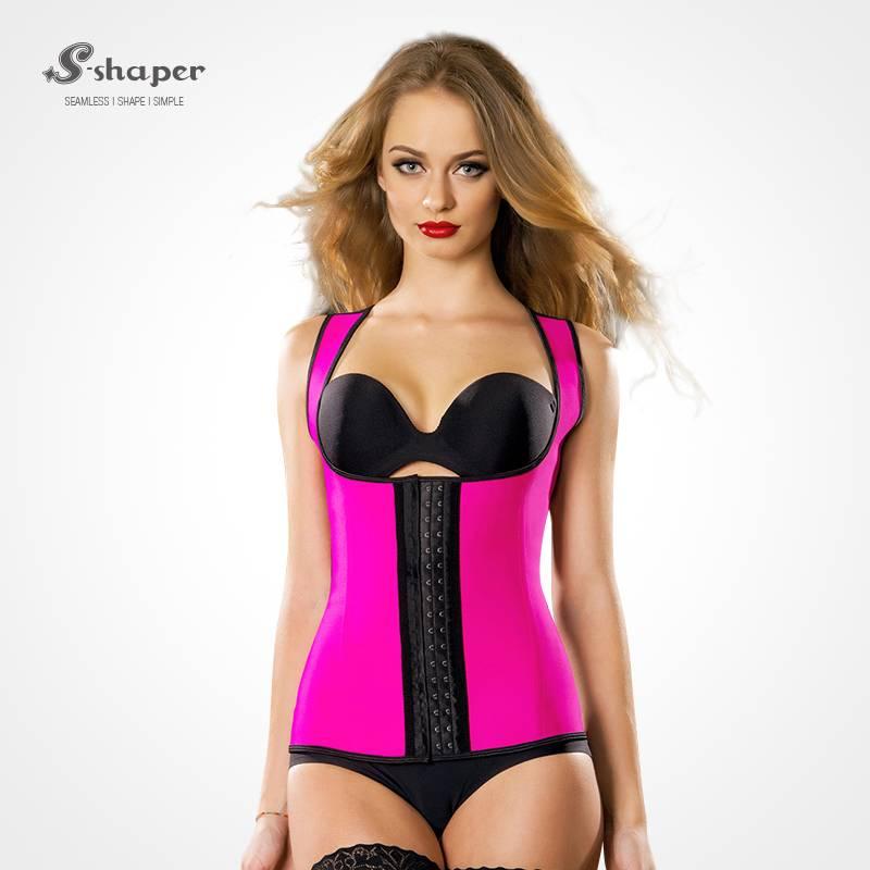 S-SHAPER Sport Latex Vest Waist Trainer Hot Body Shaper Waist Cincher Waist Slimming Corsets