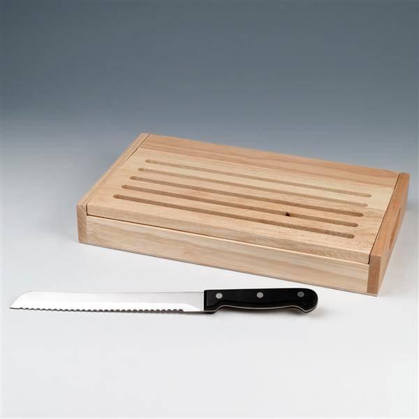 Rinvay bread board with bread knife set