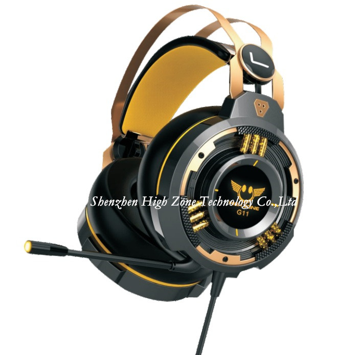 Gaming Headphone with Vibration Function and 5.1 Surround Sound