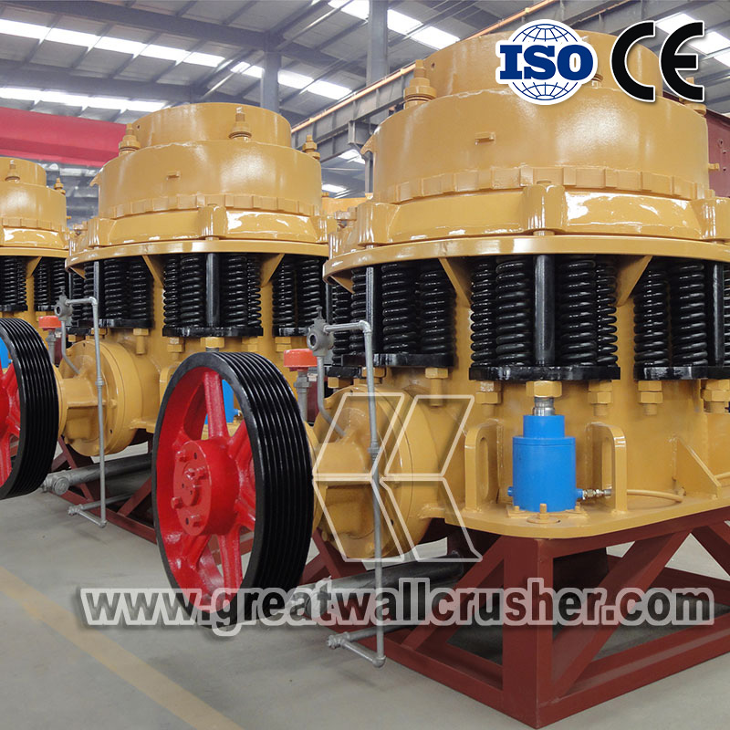 Cone crusher for sale in 150 ton per hour crushing plant